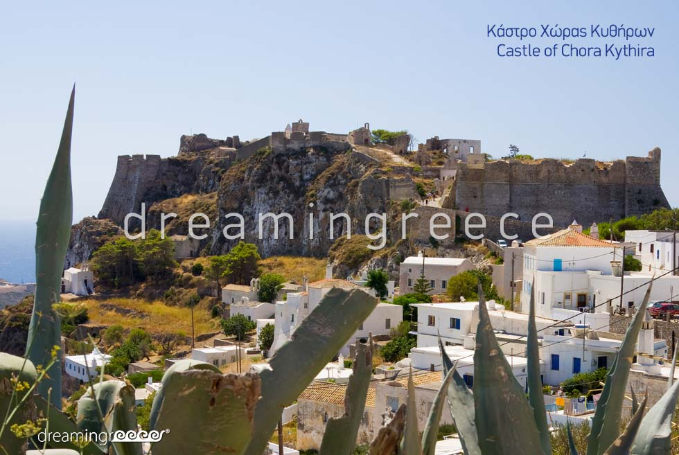 Castle of Chora Kythira Island Discover Greece