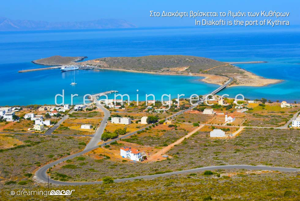 Diakofti Port Kythira Island Travel Guide of Greece