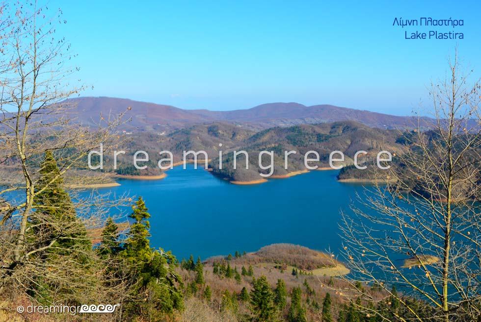 Explore Lake Plastiras. Thessaly Greece.