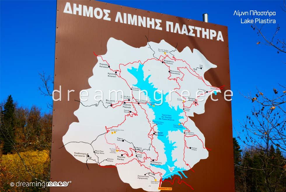 Lake Plastiras. Discover Greece.