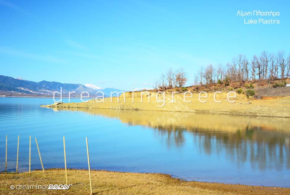 Lake Plastiras. Tourist Guide of Greece.