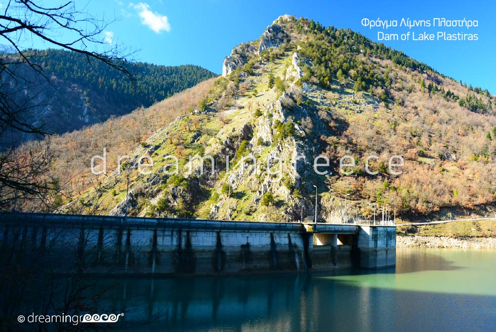 Lake Plastira is one of the most attractive places in Greece
