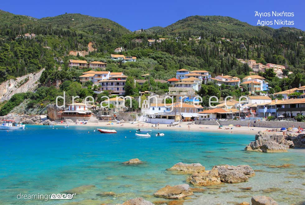 Agios Nikitas Lefkada island Greece
