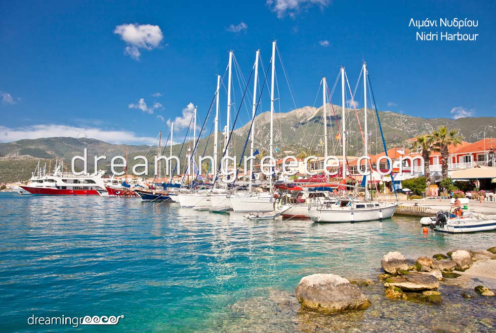 Nidri Lefkada island Discover Greece Ionian Islands