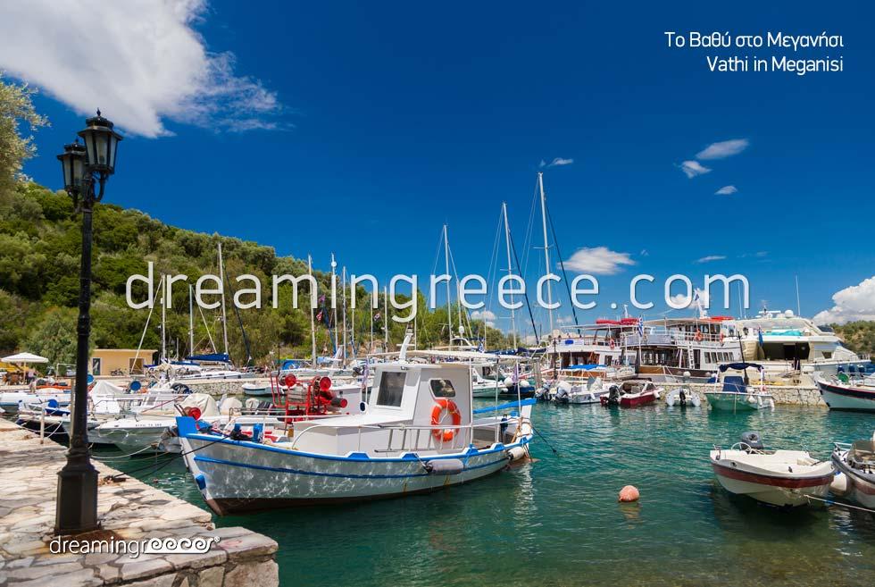 Vathi Meganisi island Greece