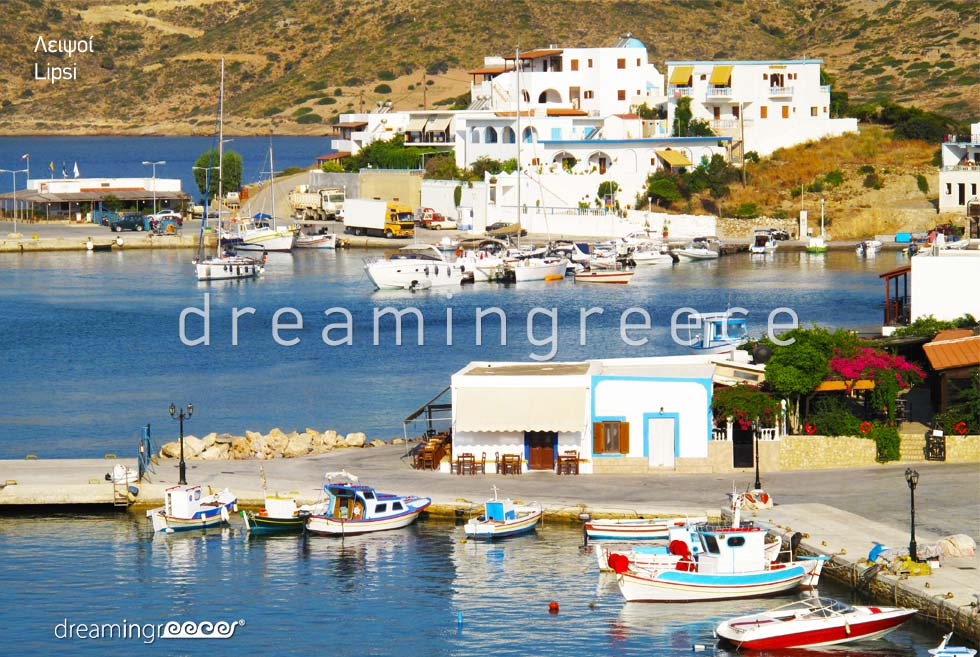 Travel Guide of Lipsi island Dodecanese Greece