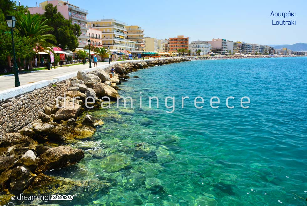 Holidays in Loutraki Corinth Peloponnese Greece