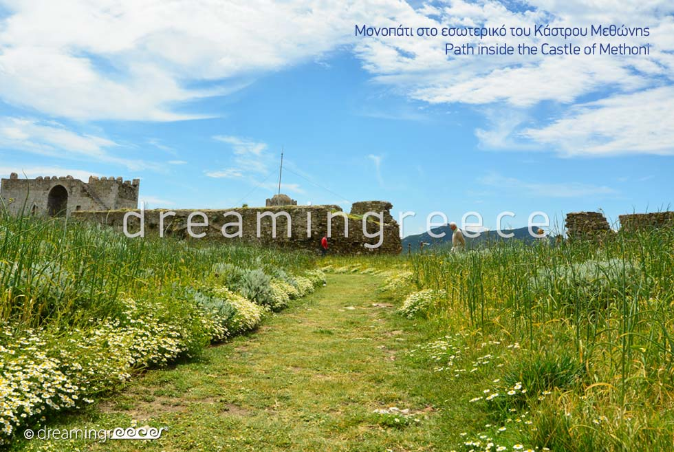 Travel Guide Castle of Methoni Messinia Peloponnese Greece