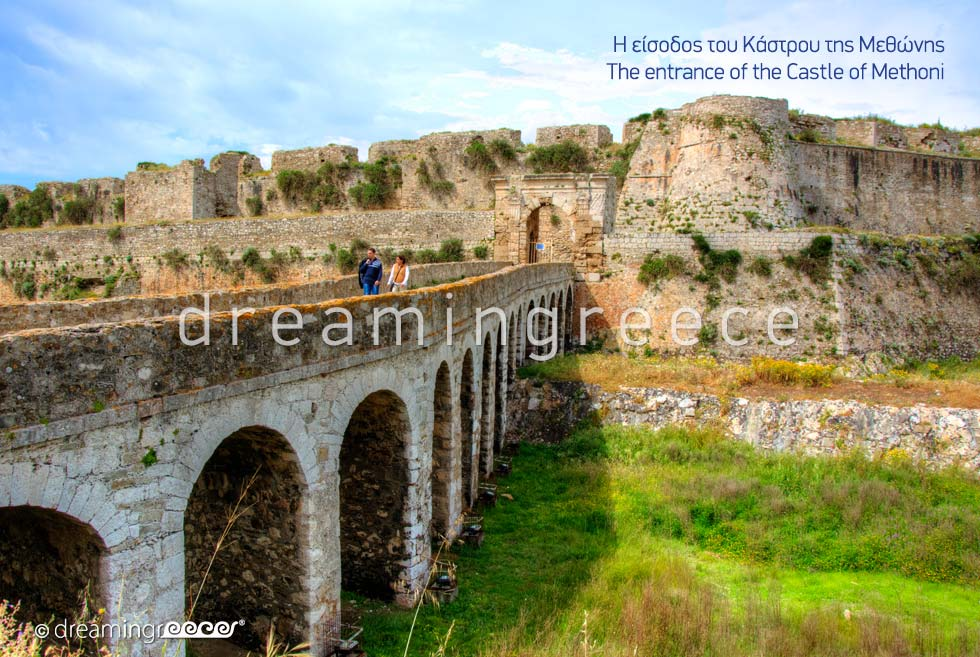 Castle of Methoni Messinia Peloponnese Dream in Greece