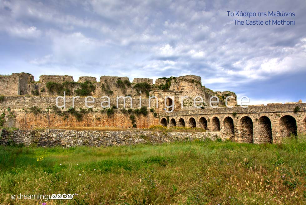 Castle of Methoni Messinia Peloponnese Explore Greece