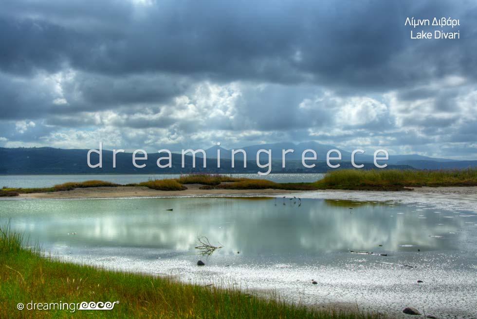 Explore Lake Divari Pylos Messinia Peloponnese Greece