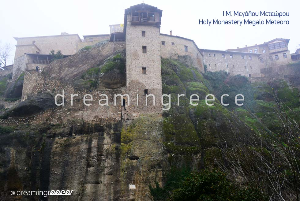 Discover Holy Monastery Megalo Meteoro