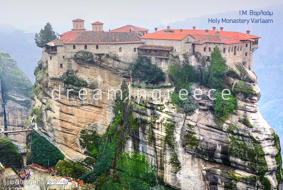 Holy Monastery Varlaam in Meteora Greece.