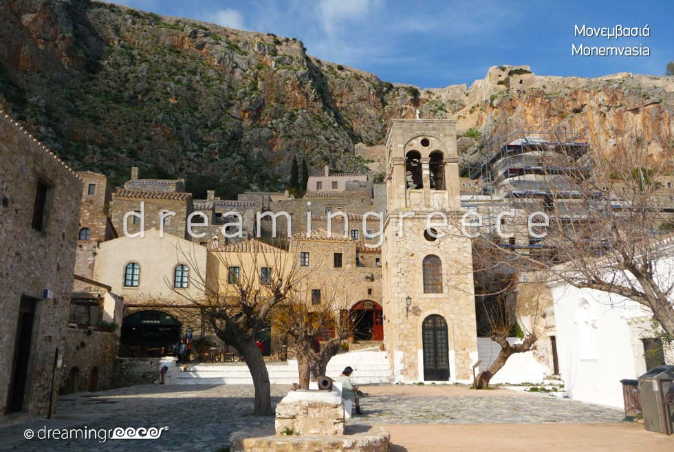 Byzantine Fortress of Monemvasia Laconia Discover Greece