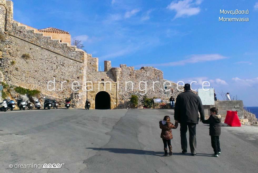 Byzantine Fortress of Monemvasia Peloponnese Visit Greece
