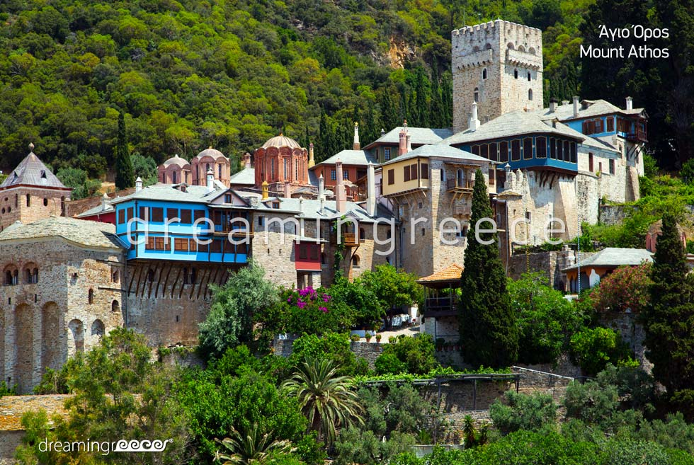 Mount Athos Halkidiki Greece. Travel Guide of Halkidiki.