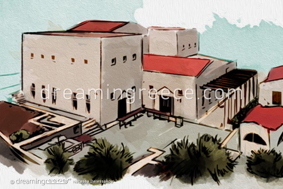 Archaeological Museum Kalymnos Dodecanese Greece