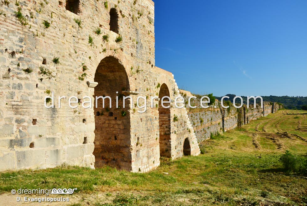 Archaeological Site of Nikopolis. Archaeological sites in Greece.
