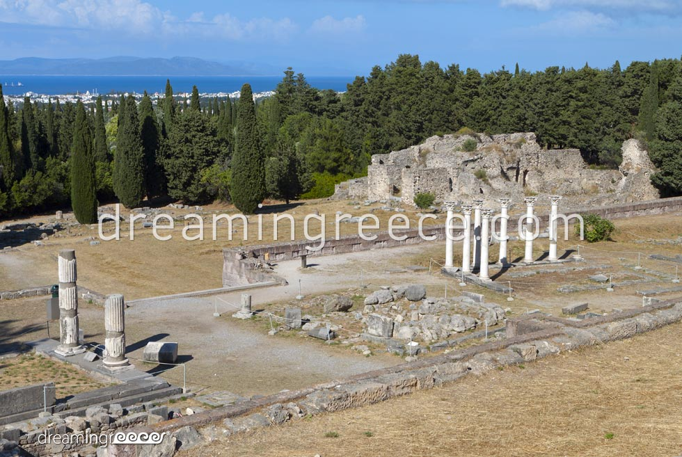 Asclepio of Kos Dodecanese Greece