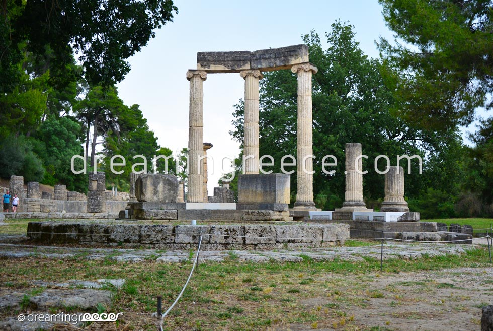 Archaeological Site Ancient Olympia Ilia Peloponnese. Discover Greece