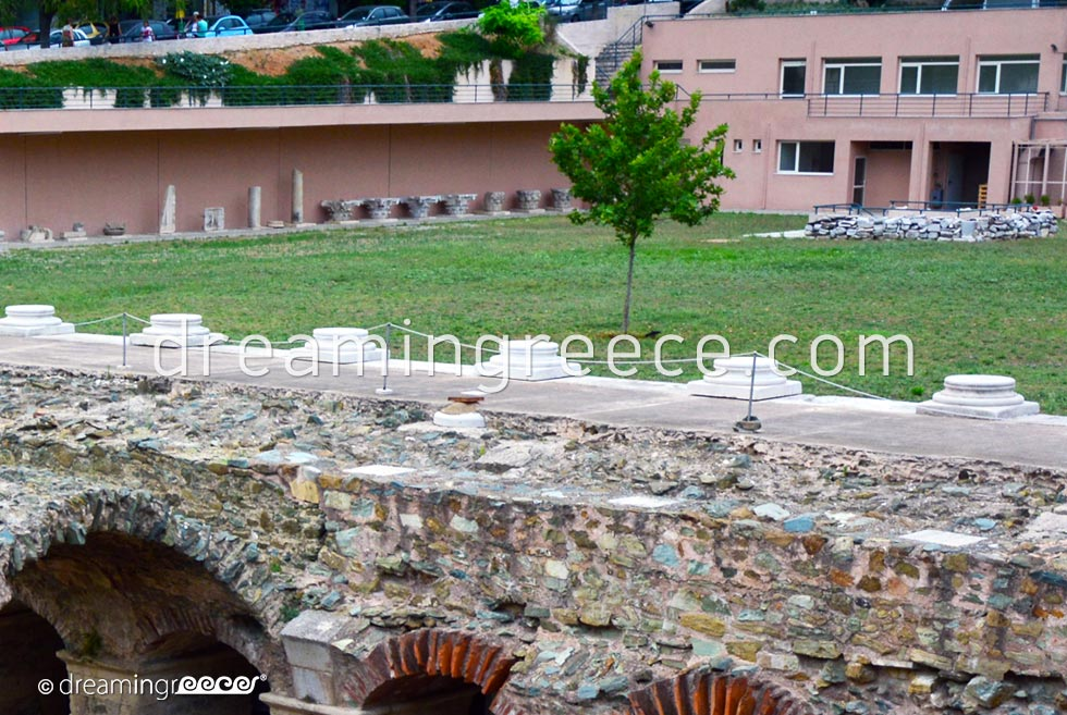 Thessaloniki's Ancient Agora. Travel Guide of Greece.