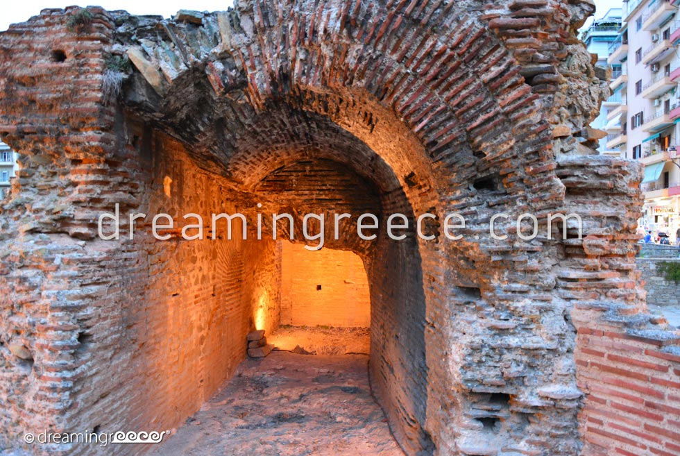 The Ancient Hippodrome. Travel Guide of Thessaloniki Greece