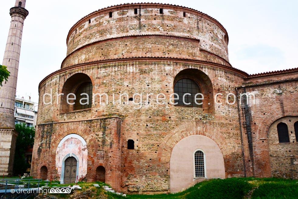 The Rotunda in Thessaloniki. Visit Greece