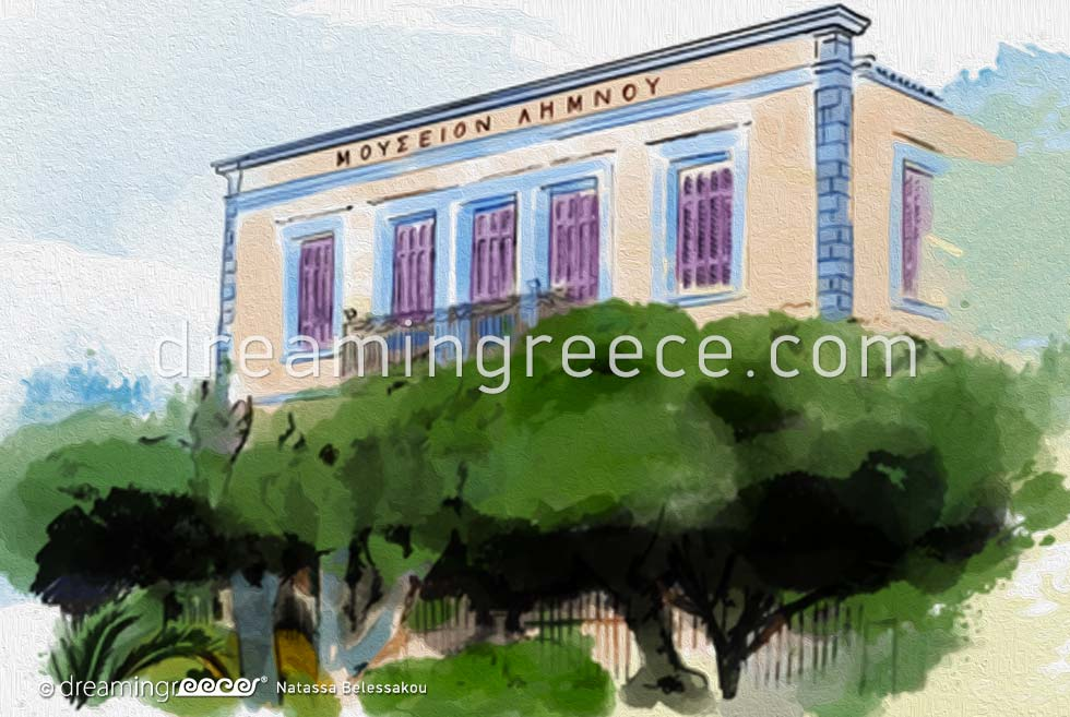 Archaeological Museum of Lemnos Greece