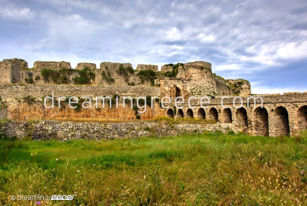 Methonis Castle Messinia Peloponnese Greece