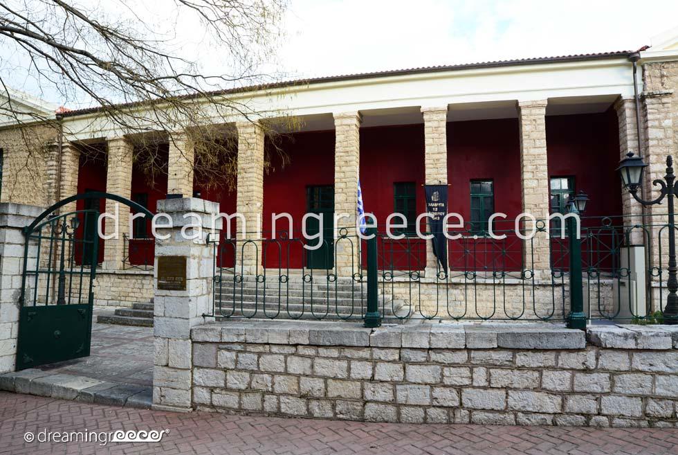Museum Holocaust Kalavryta Achaia Peloponnese Greece