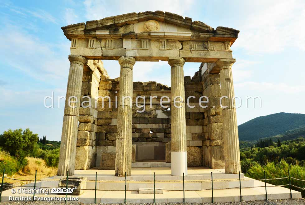 Archaeological Site of Ancient Messene in Greece