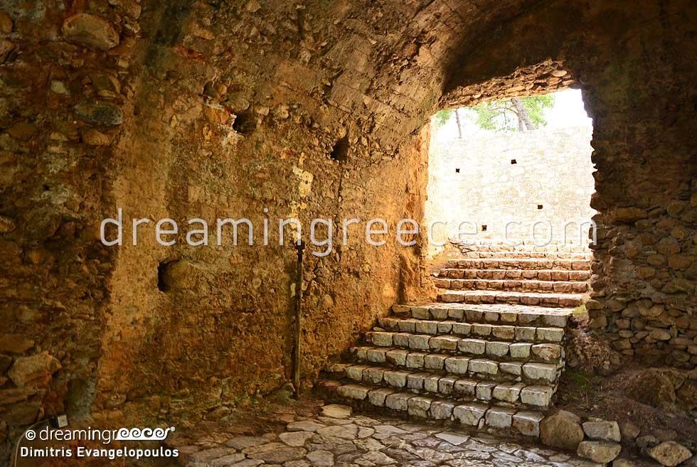 Castle of Kalamata Messinia Greece