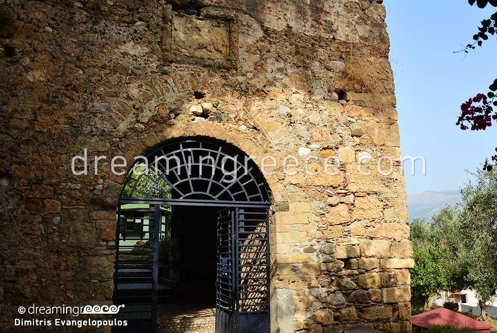 Castle of Kalamata Messene Greece