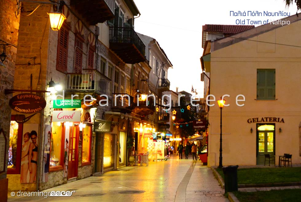 Visit Old Town Nafplio Argolida Peloponnese Greece