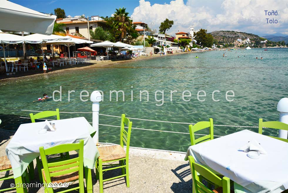 Travel Guide of Tolo Argolida Peloponnese Greece