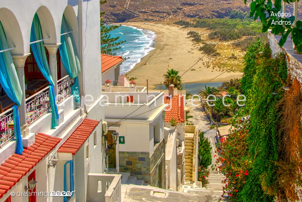 Discover Andros island Greece Travel Guide of Andros