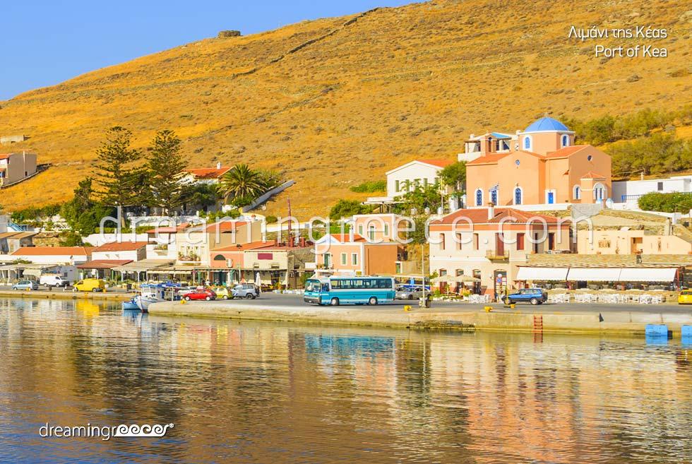 Holidays in Kea Tzia island Cyclades Greece