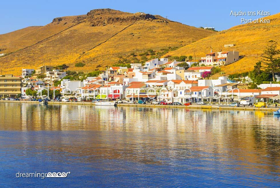 Kea Tzia island. Holidays in Greece
