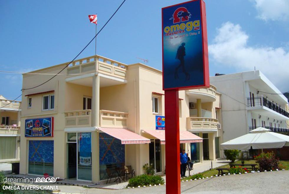 Omega Divers Diving in Chania Greece. Travel guide of Chania