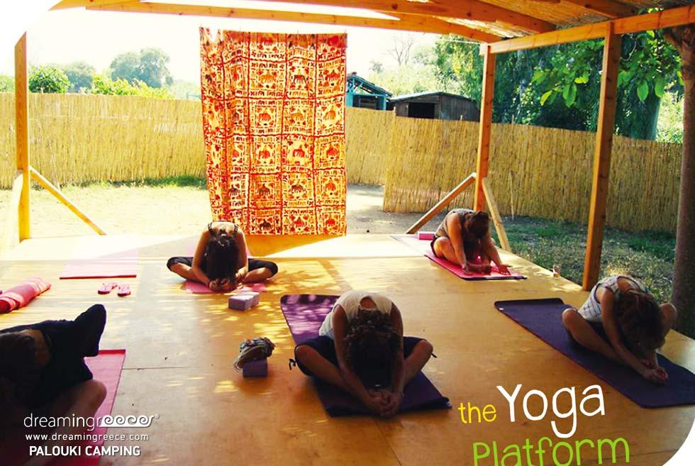 Yoga Camping Palouki in Amaliada Camping in Greece