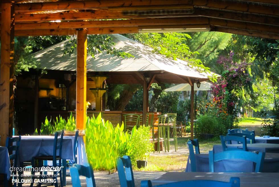 Restaurant Camping Palouki in Amaliada. Camping in Greece. Vacations in Amaliada.