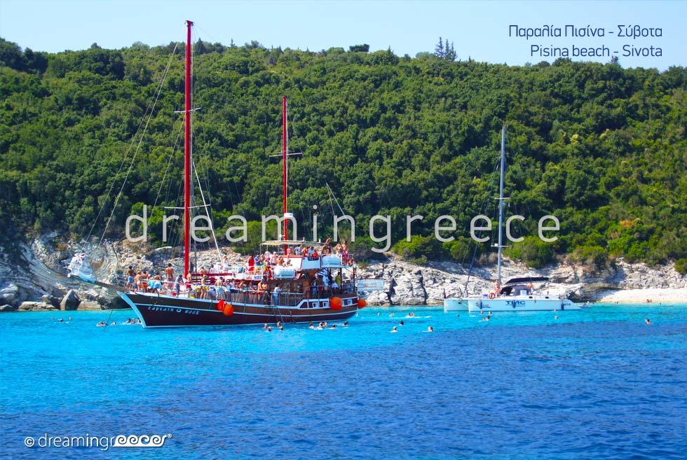 Crystal clear waters of Pisina beach Sivota Greece
