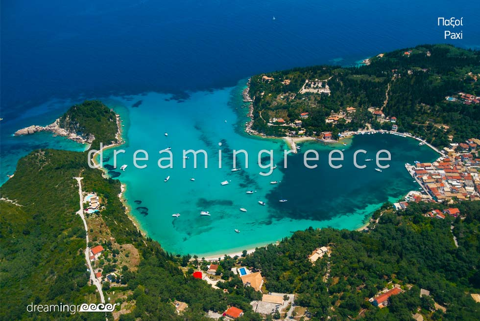 Vacations in Gaios Paxos Antipaxos Greece Ionian Islands
