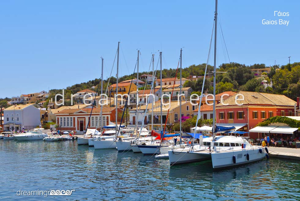 Travel Guide of Gaios Paxos Antipaxos Greece Ionian Islands