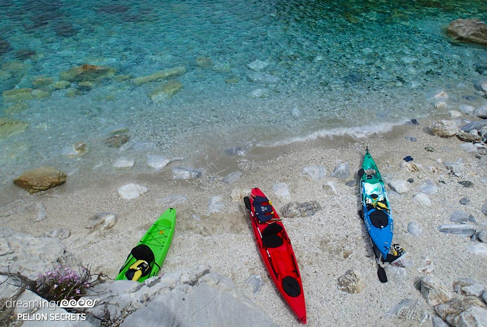 Sea Kayaking Pelion Secrets. Holidays in Greece