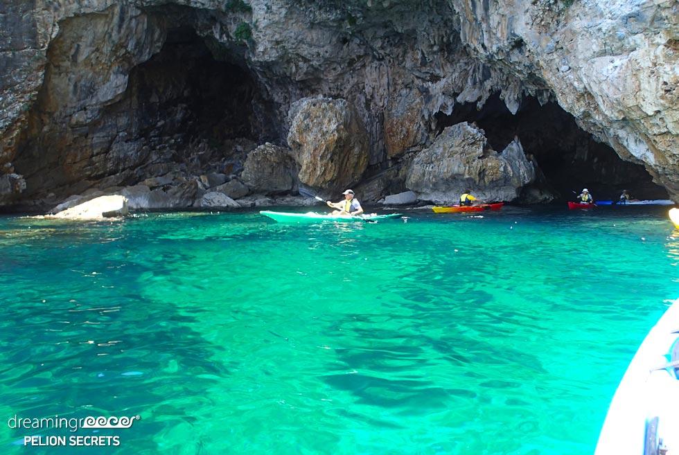 Sea Kayaking Pelion Secrets. Vacations in Greece.