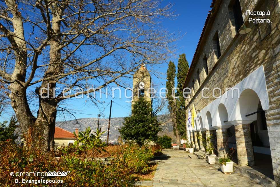Explore Portaria in Pelion. Visit Greece. Vacations in Pelion Greece.