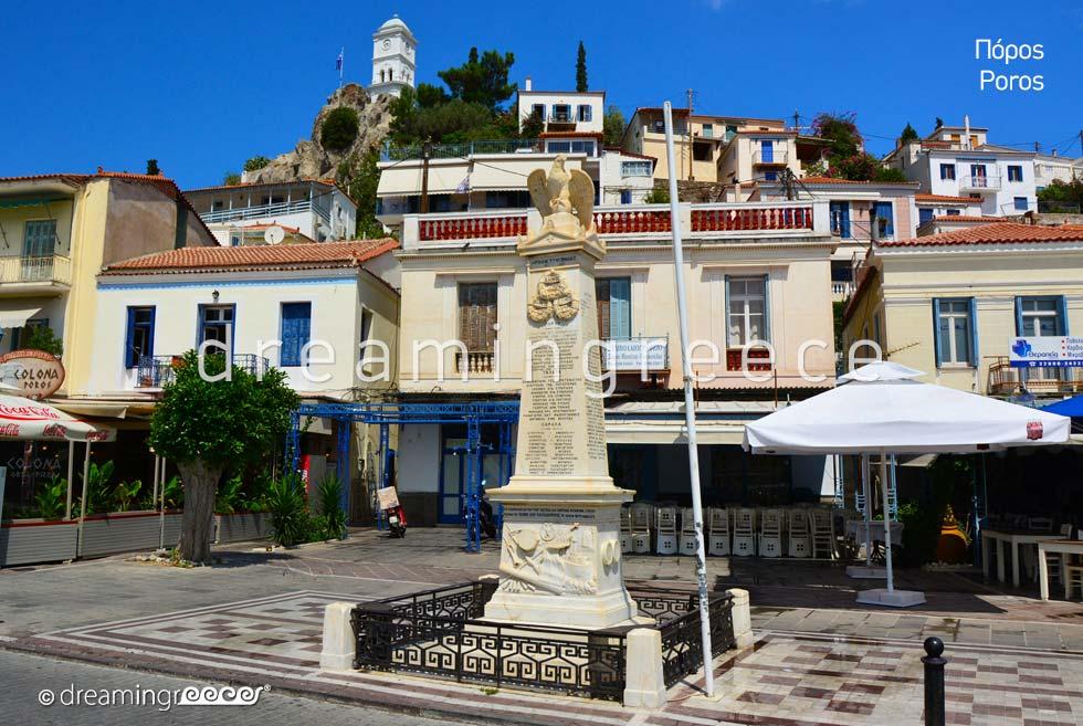 Visit Poros island Greece Argosaronic islands