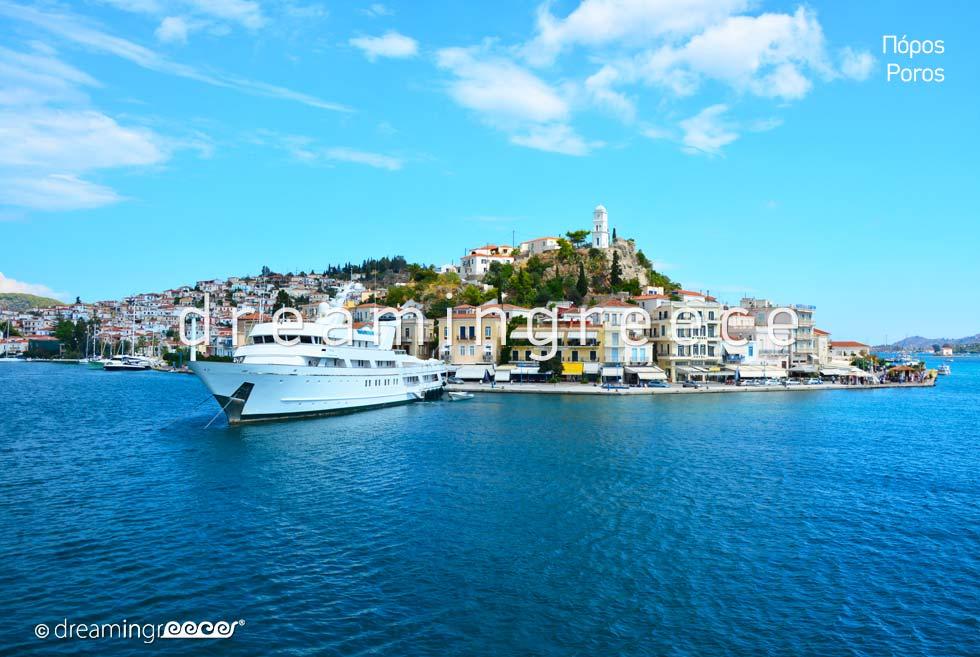 Summer Holidays in Poros island Greece