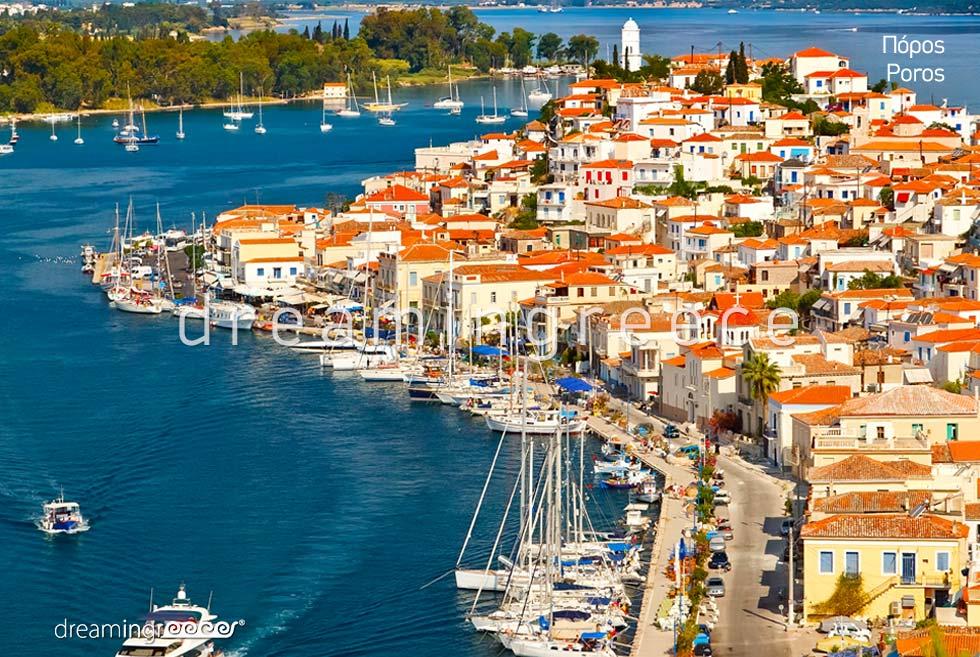 Travel Guide of Poros island Greece Argosaronic islands